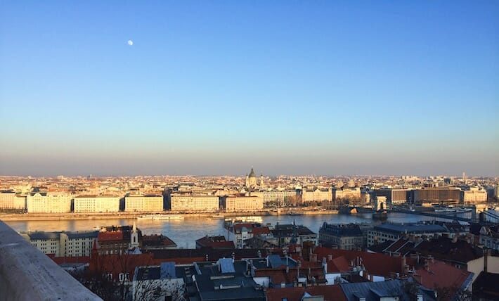 Three Days in Budapest - View of Budapest (Ph. by Sara Pasino)