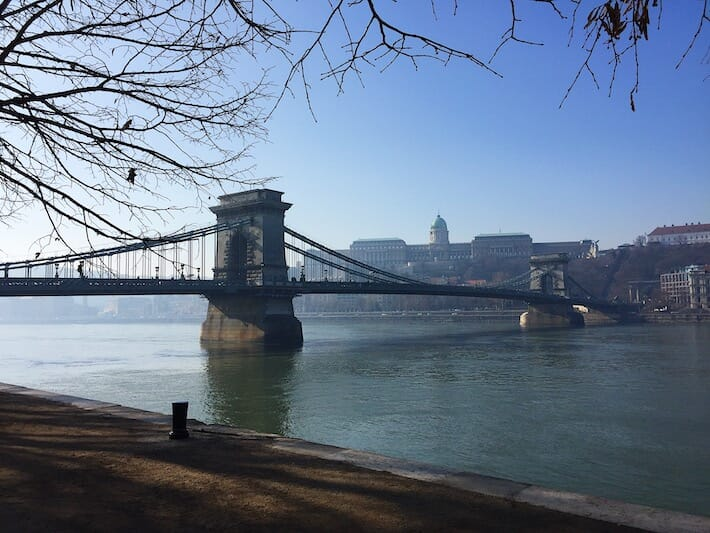 Three Days in Budapest - Chains Bridge (Ph. by Sara Pasino)