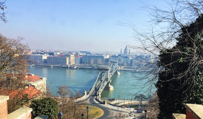 Three Days in Budapest - View from the funicular (Ph. by Sara Pasino)