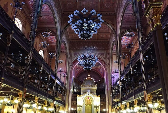 Three Days in Budapest - Great Synagogue (Ph. by Sara Pasino)