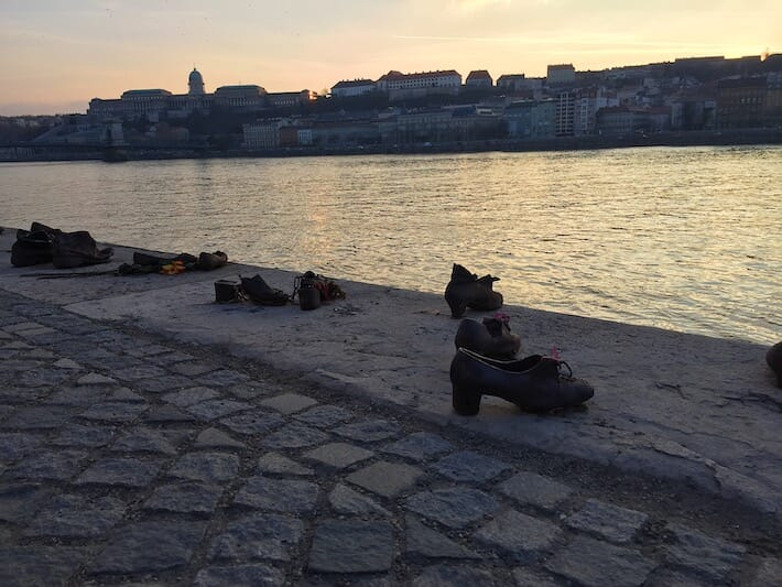 Three Days in Budapest - Shoes on the Danube (Ph. by Sara Pasino)