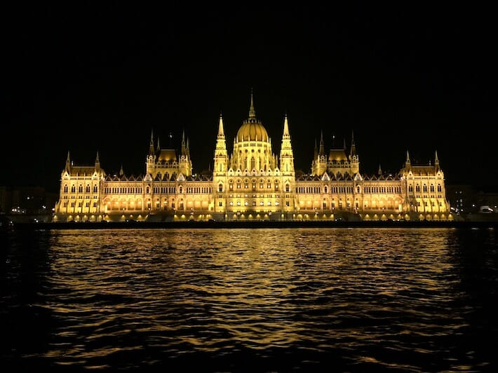 Three Days in Budapest - View of the Parliament from the cruise (Ph. by Sara Pasino)