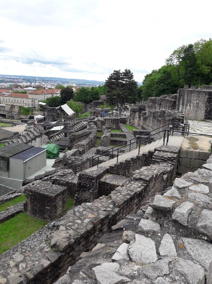 Lione Cosa vedere in 48 ore - Anfiteatro gallo-romano