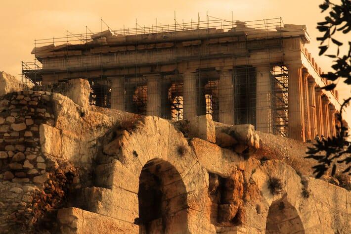 Reportage sulla Grecia - L'Acropoli di Atene (Ph. by Valentina Contavalle)