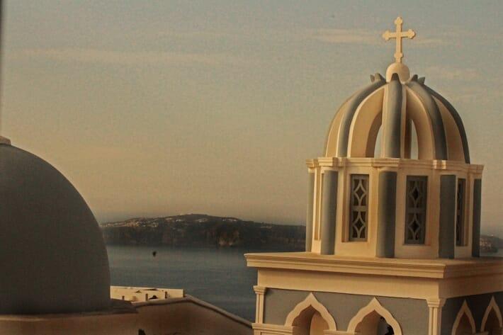 Santorini Island and the Mediterranean (Ph. by Valentina Contavalle)