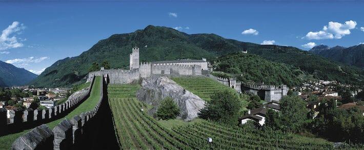 Castelli di Bellinzona - Canton Ticino