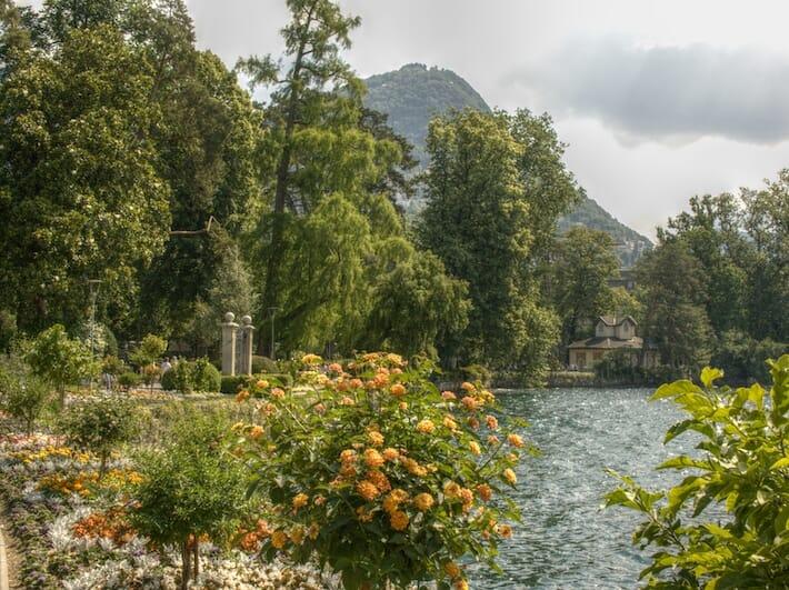 Parco Ciani a Lugano - Canton Ticino