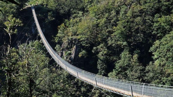 Ponte Tibetano - Canton Ticino