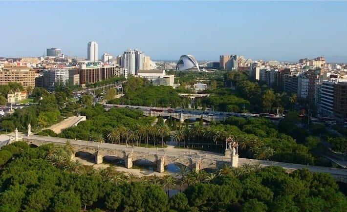 Valencia da vedere - Jardín del Turia