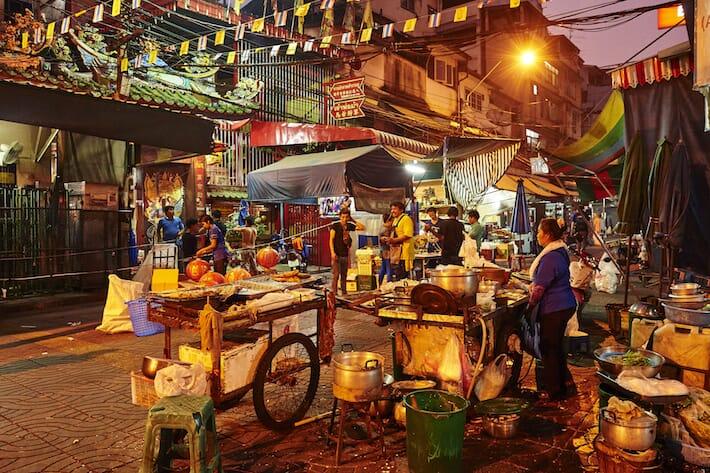Guida Bangkok - Street food